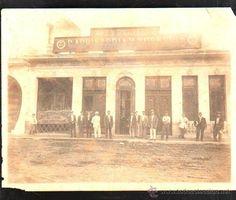 CUBA. FOTOGRAFIA DE CARPINTERIA Y TORNERIA DE PAZ Y PEDREIRA. 22 X 17CM. BENITO BARROS. LEER (Fotografía Antigua - Fotomecánica)