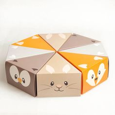 Woodland Cake Boxes from Little Party Pack  party  supplies Butterfly Wedding  Cake 20dc48ce5049