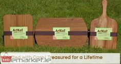 Wooden serving platters and wooden serving boards Ireland. Emarket.ie promoting your business and trade for free...