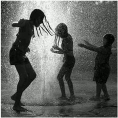 Dancing in Rain, when no one is watching but us. <3 Pictures like this are beautiful.
