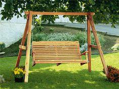 yard swing plans
