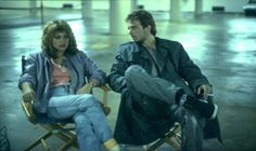 Linda Hamilton and Michael Biehn on the set of The Terminator (1984). Not only is Michael too hot already, seeing him smoke makes him even sexier. Damn!!!
