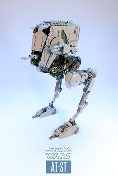 Star wars prints lego