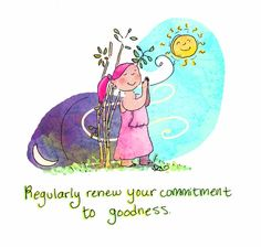 goodness mantra {today's doodle}