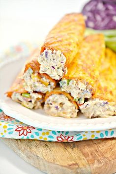Keto Low Carb Southwest Cream Cheese Wraps – Ketogenic Diet Recipe Roll Ups – Appetizers – Side Dish – Lunch – Dinner – Completely Keto Friendly & Beginner Cream Cheese Cookie Recipe, Cream Cheese Roll Up, Baking With Coconut Flour, Almond Flour Recipes, Low Carb Recipes, Diet Recipes, Recipes Dinner, Southwest Chicken Soup, Chicken Wrap Recipes