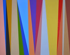 Karl Benjamin at Louis Stern Fine Arts