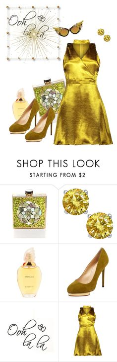 """Ooh LaLa Glamour"" by michelledevon ❤ liked on Polyvore featuring Kamilah Willacy, Givenchy and Charlotte Olympia"