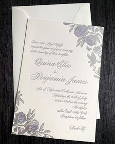Delicate florals come to life in a special way with gorgeous watercolor tones layered underneath silver foil. We just loved working on this elegant wedding with @classiceventsnyc and @thepierreny 😍😍 Bohemian Chic Weddings, Floral Wedding Invitations, Just Love, Elegant Wedding, Florals, Wedding Planning, Reception, Marriage, Wedding Inspiration