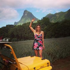 You wave is waiting from Sally Fitzgibbons #ROXYDARES