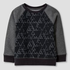 Toddler Boys' Fleece Raglan Top - Cat & Jack™ : Target
