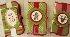 Stampin' Up!  Treat Holder  Yvonne Metz  Top Note