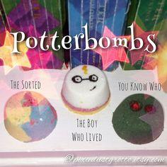 Harry Potter inspired bath bomb set