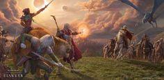 Wallpapers - The Elder Scrolls Online Elder Scrolls Online, Chat App, Discord, Community, Age, Animals, Painting, Wallpapers, Animales