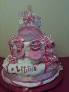 Gerber Princess Diaper Cake from Sher's Gift's