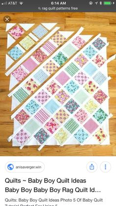 Lattice Baby Quilt Tutorial Quilt Pattern Baby Quilts