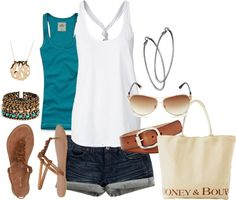 """summer"" by kristafliss on Polyvore"