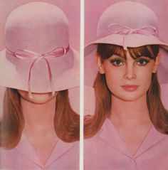 Jean Shrimpton, 1965 photo David Bailey via theyroaredvintage