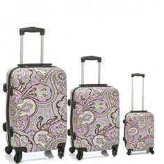 ac444a2fe Cachemir es tu conjunto de 3 Maletas de viaje, son unas maletas duras de 4