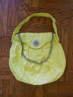 Marc by Marc Jacobs Patent Leather Posh Turnlock Hobo Bag #MarcbyMarcJacobs #Hobo
