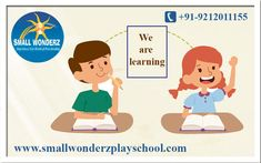 Learning is fun at Small Wonderz. The school club lets children play and learn with puzzles, toys and beads. Dance and sing with friends, listen to stories, get to know numbers, letters and colors, hold a crayon, paint, scribble, tear and paste.