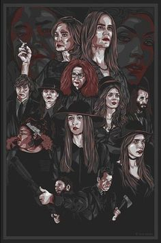 American Horror Story ~ Coven by rosmiforever
