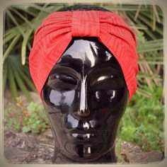 Red headband without bow SINGLE PIECE Mademoiselle Pimpante
