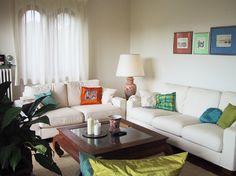 Simple little living room. LOVE!