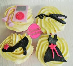 Girl about town cupcake collection from The Manchester Cakehouse!