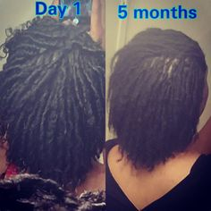 I'm on day to see the progress by Christmas! Dreadlock Hairstyles, Twist Hairstyles, Black Girls Hairstyles, Cool Hairstyles, Natural Dreads, Natural Hair Tips, Natural Hair Styles, Sister Locks, Starter Locs