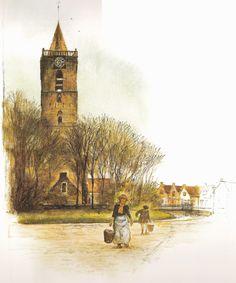 Tekeningen van Rien Poortvliet