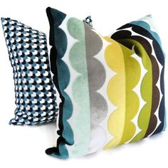 Jonathan Adler Pillows | Let's get down to Pillow Talk! We share our newest finds for fabulous Throw Pillows that are fun to add to any room! | Sumptuous Living | http://sumptuousliving.net/pillow-talk-having-fun-with-throw-pillows/
