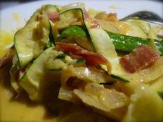 zucchini cabonara