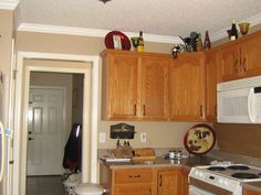 kitchen paint color ideas with oak cabinets kitchen: kitchen