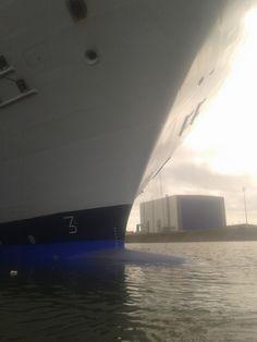 Bow of the Harmony of the Seas.