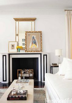 Friday Finds :: Black and White Interior Design | Simplified BeeSimplified Bee