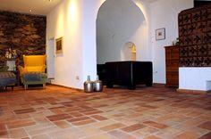 Bodenplatten Antik Fliesen Klinker alte Mauersteine Backsteine Ziegel rustikal