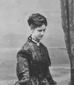 Her Imperial and Royal Highness Archduchess Karl Ludwig of Austria (1843-1871) née Her Royal Highness Princess Maria Annunziata of Bourbon-Two Sicilies. Archduchess Marie Annunziata died at 28 from tuberculosis.