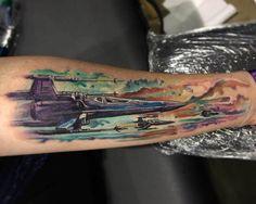 X-Wing Tattoo by Josh Bodwell