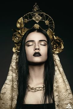 Image result for gothic metal headdress crown