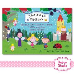 YOU PRINT Ben and Holly's Little Kingdom DIGITAL by KabooStudio