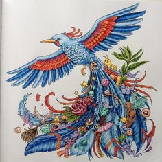 #animorphia #kerbyrosanes #coloringbook