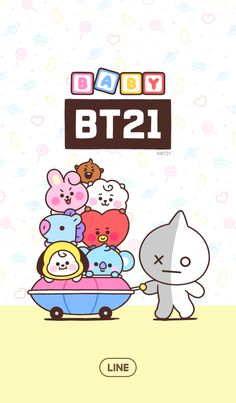 Lines Wallpaper, Baby Wallpaper, Iphone Wallpaper, Bts Chibi, Bts Name, Baby Stickers, Instagram Frame, Bts Backgrounds, Blackpink And Bts