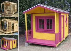 Pallet Playhouse Is Easy To Make And Looks Great | The WHOot