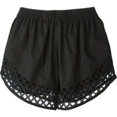 Shop designer short shorts for women at Farfetch for styles from Off-White, Prada, Phillip Lim and more. Black High Waisted Shorts, High Rise Shorts, Black Shorts, Stretch Shorts, Carven, Cotton Shorts, Luxury Fashion, Cute Outfits, Fashion Styles