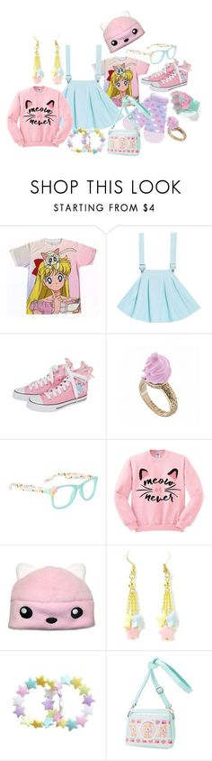 """Fairy Kei"" by roseunspindle ❤️ liked on Polyvore featuring Ted Baker #kawaiifashion,"
