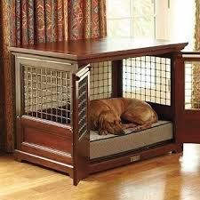 Dog Kennel Furniture - Foter You are in the right place about luxury dog kennel Here we offer you th Canis, Wooden Dog Crate, Pet Crates, Diy Dog Crate, Dog Crate Furniture, Furniture Stores, Cheap Furniture, Crate Bed, Crate Table
