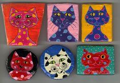 cats in papier mache - חיפוש ב-Google