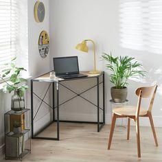 Buy Argos Home Loft Living Corner Office Desk - Light Oak Effect | Desks | Argos