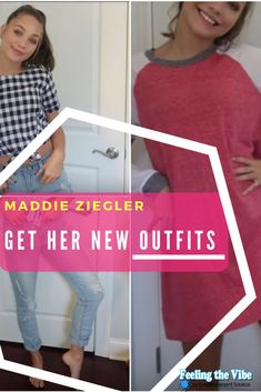 Maddie Ziegler releases new outfits 2018   #MaddieZiegler #Outfits #2018