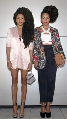 TK Wonder and Cipriana Quann Short Girl Fashion, Punk Fashion, Star Fashion, Boho Fashion, Street Fashion, Quann Sisters, Couture, Chic Outfits, Everyday Fashion